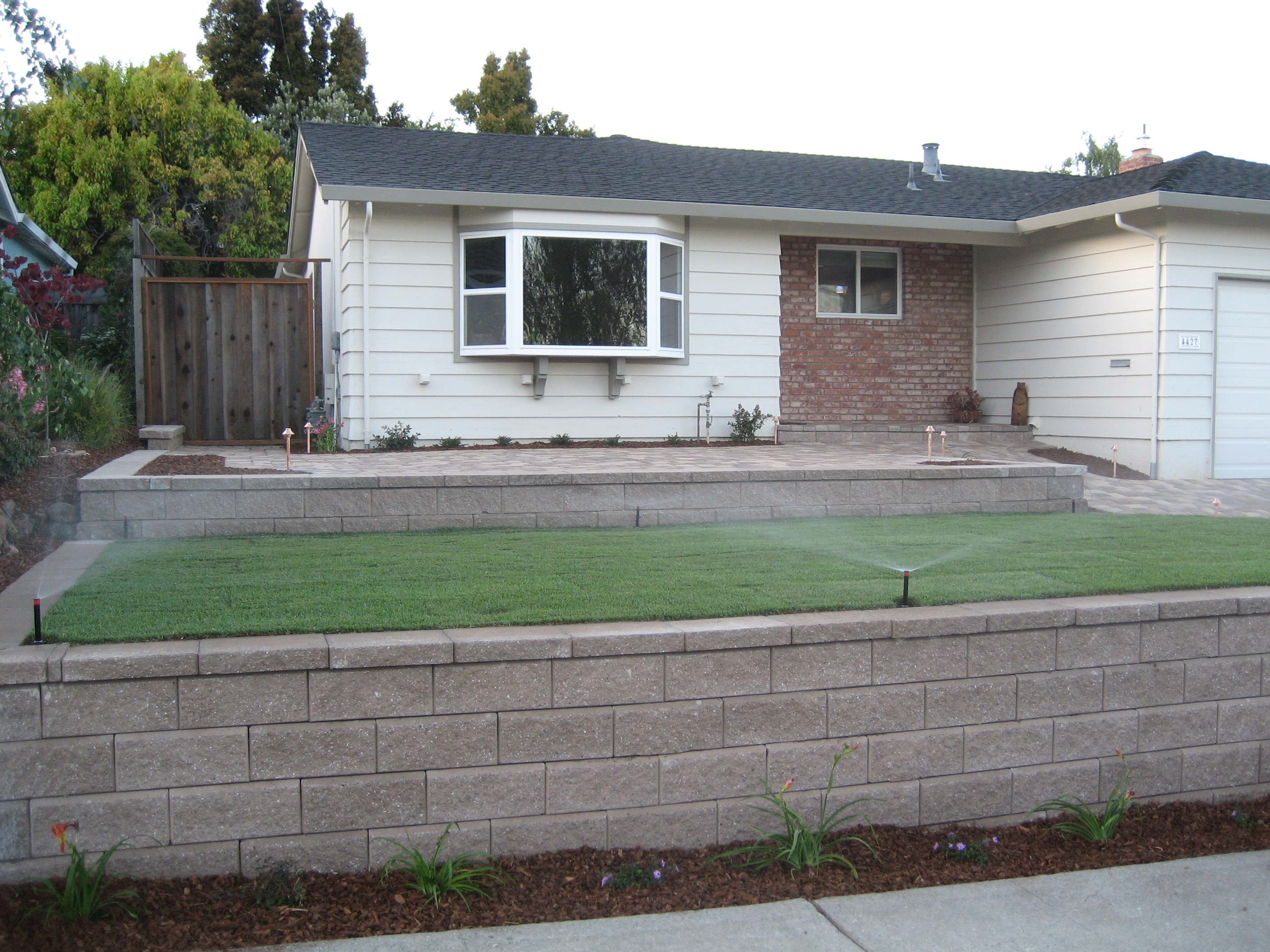 Sprinklers and Sod