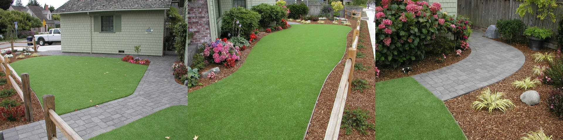 Pavers and Artificial Turf in Capitola, CA